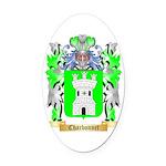 Charbonnet Oval Car Magnet