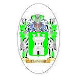 Charbonnet Sticker (Oval 50 pk)