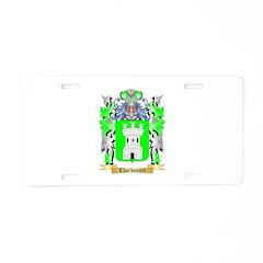 Charbonnet Aluminum License Plate