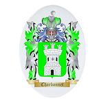 Charbonnet Ornament (Oval)