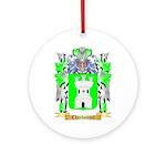 Charbonnet Ornament (Round)