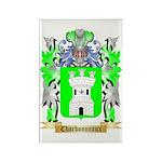 Charbonneaux Rectangle Magnet (10 pack)