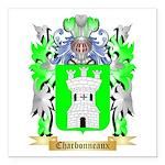 Charbonneaux Square Car Magnet 3
