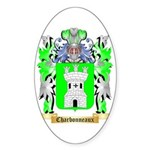 Charbonneaux Sticker (Oval 50 pk)