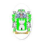 Charbonneau Oval Car Magnet