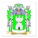 Charbonneau Square Car Magnet 3