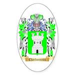 Charbonneau Sticker (Oval 10 pk)