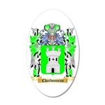 Charbonneau 20x12 Oval Wall Decal
