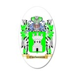 Charbonneau 35x21 Oval Wall Decal