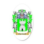 Charbonell Oval Car Magnet