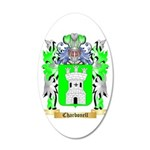 Charbonell 20x12 Oval Wall Decal