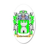 Charbonell 35x21 Oval Wall Decal