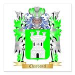 Charbonel Square Car Magnet 3