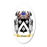 Chaput 20x12 Oval Wall Decal