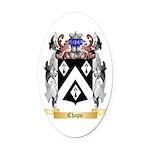 Chapu Oval Car Magnet
