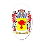 Chapron Oval Car Magnet