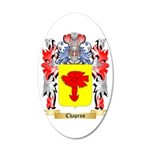 Chapron 35x21 Oval Wall Decal
