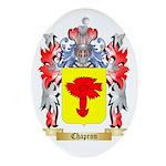 Chapron Ornament (Oval)