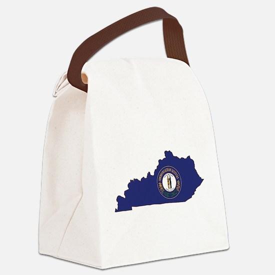 Kentucky Flag Canvas Lunch Bag