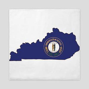 Kentucky Flag Queen Duvet