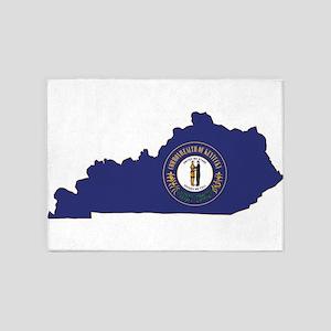 Kentucky Flag 5'x7'Area Rug