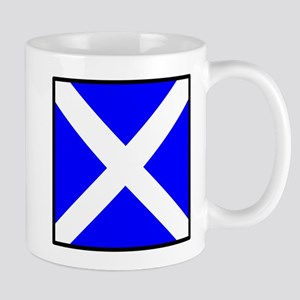 Nautical Flag Code Mike Mug