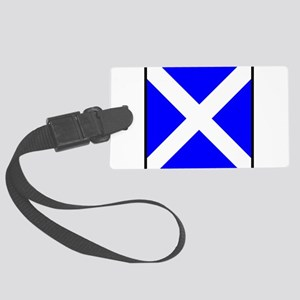 Nautical Flag Code Mike Luggage Tag