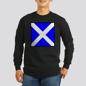 Nautical Flag Code Mike Long Sleeve T-Shirt