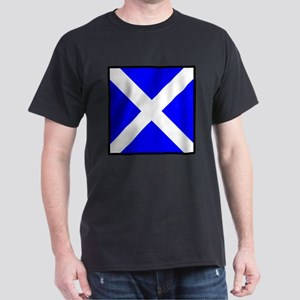 Nautical Flag Code Mike T-Shirt