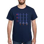 Fencing Sword Dark T-Shirt