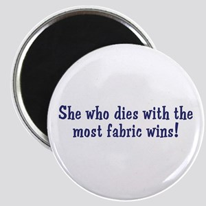 Funny Quilters Quote Magnet