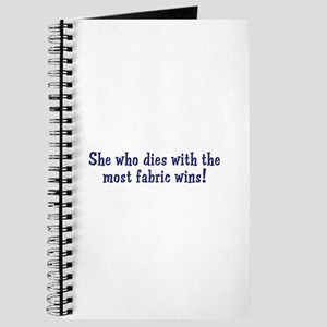 Funny Quilters Quote Journal