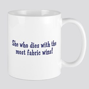 Funny Quilters Quote  Mug