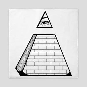 Pyramid Queen Duvet