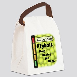 Flyball is Drag Racing for Dogs Lunch Bag