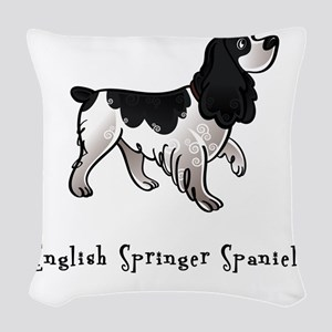 3-illustrated Woven Throw Pillow