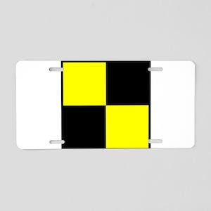 Nautical Flag Code Lima Aluminum License Plate