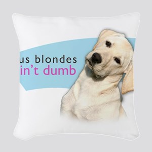 blondes Woven Throw Pillow