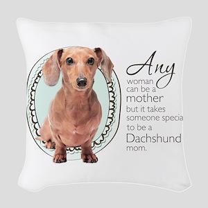 specialmom Woven Throw Pillow