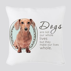wholelives Woven Throw Pillow