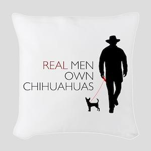 realmen Woven Throw Pillow
