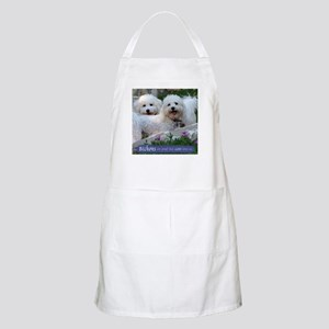 Bichons are... BBQ Apron