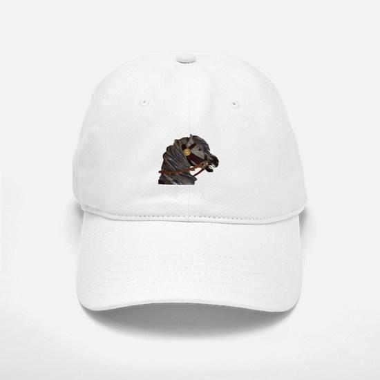 gray carousel horse Baseball Baseball Cap