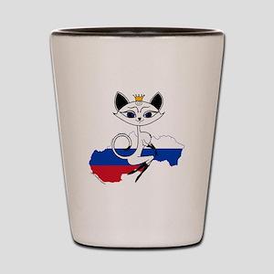 Slovakian Sexy Kitty Shot Glass
