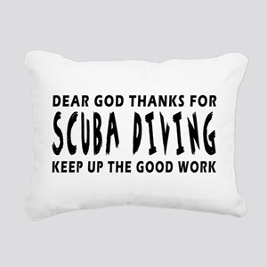 Dear God Thanks For Scuba Diving Rectangular Canva