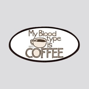 Blood Type Coffee Patches