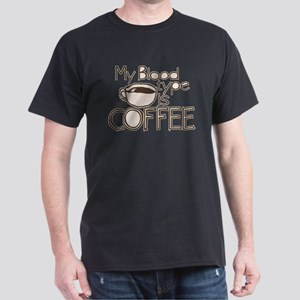 Blood Type Coffee T-Shirt