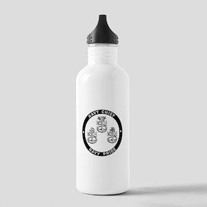 Navy Pride Water Bottle