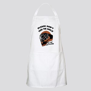 Don't Feed the Goalie BBQ Apron