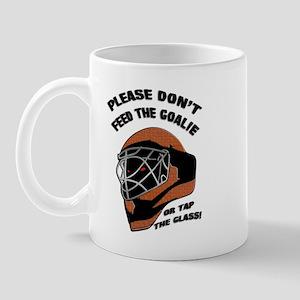 Don't Feed the Goalie Mug